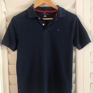 Tommy Hilfiger Size XL Navy Polo Shirt Top
